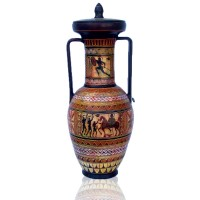 Amphora with lid