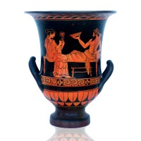 Classical red figure Attic Krater