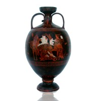 Classical Red figure Attic Amphora