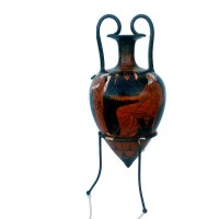 Classical red figure Rhyton Amphora