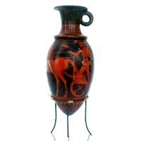 Classical red figure Attic Rhyton